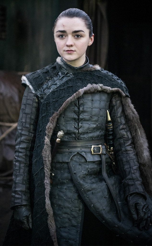 Arya Stark, Maisie Williams, Game of Thrones Finale