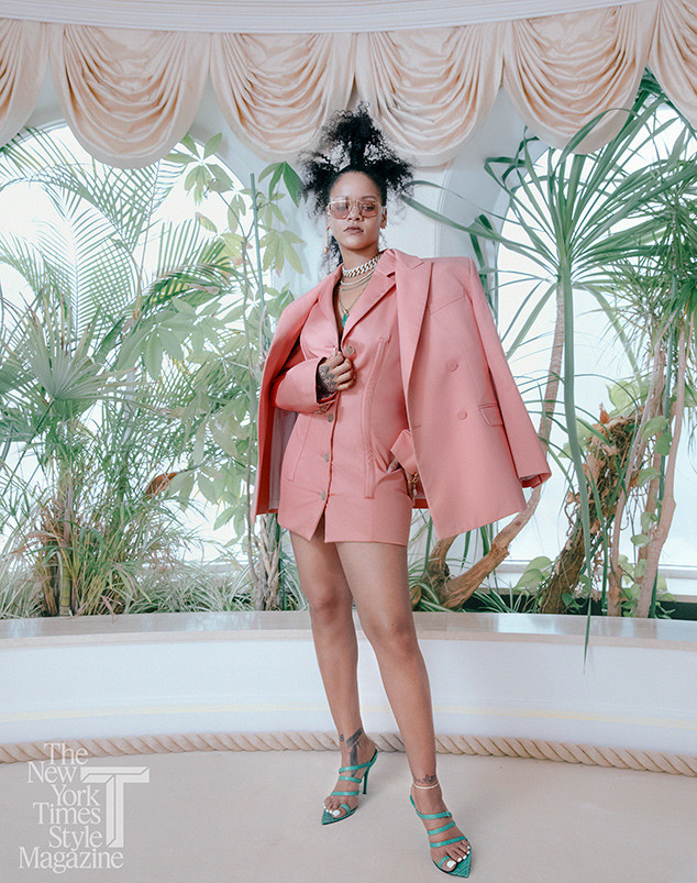 Rihanna, T Magazine