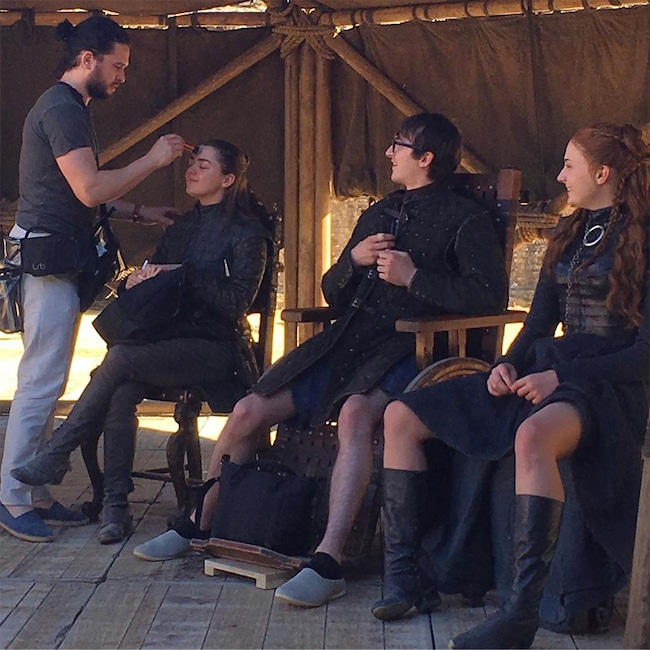 Go Behind The Scenes Of Game Of Thrones With The Stuntman: Sophie Turner Gifted The Internet The Best Game Of Thrones