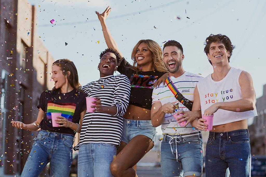 Laverne Cox, H&M Stay True Stay You Pride Campaign