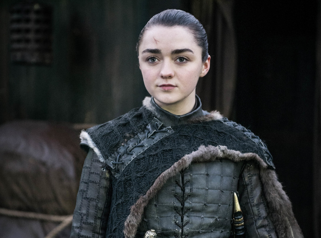 Maisie Williams Does a 180 From Arya Stark With a New Hair Color
