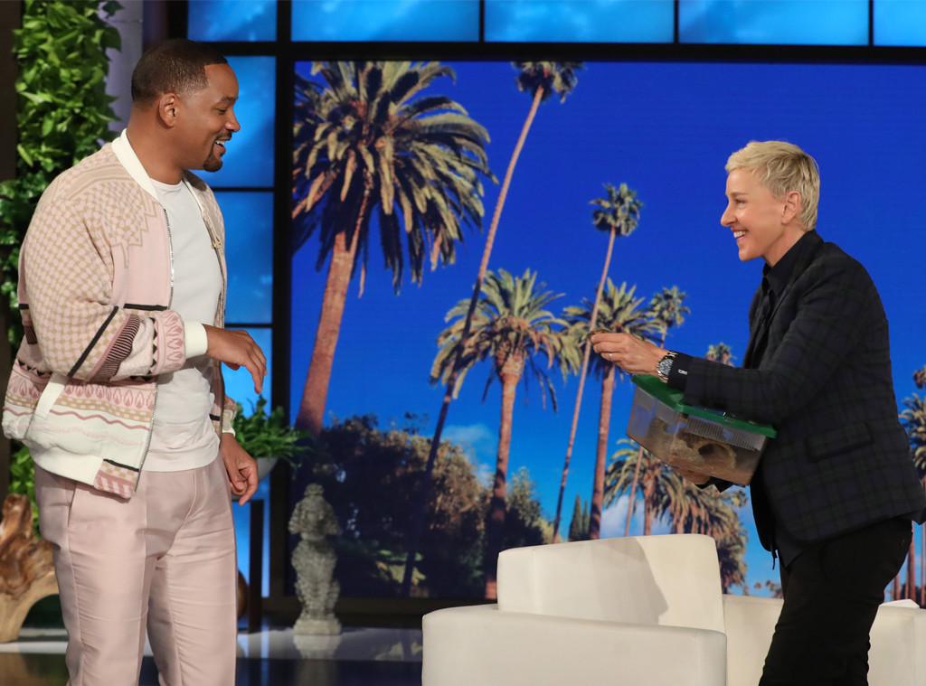 Will Smith, Ellen DeGeneres