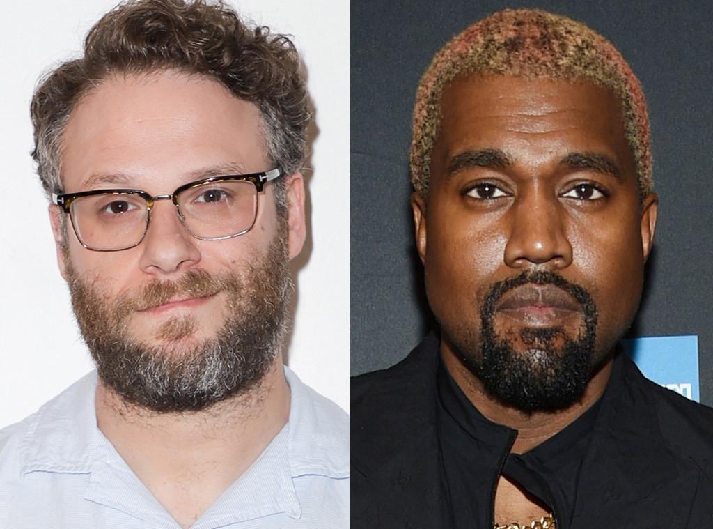 Seth Rogen, Kanye West