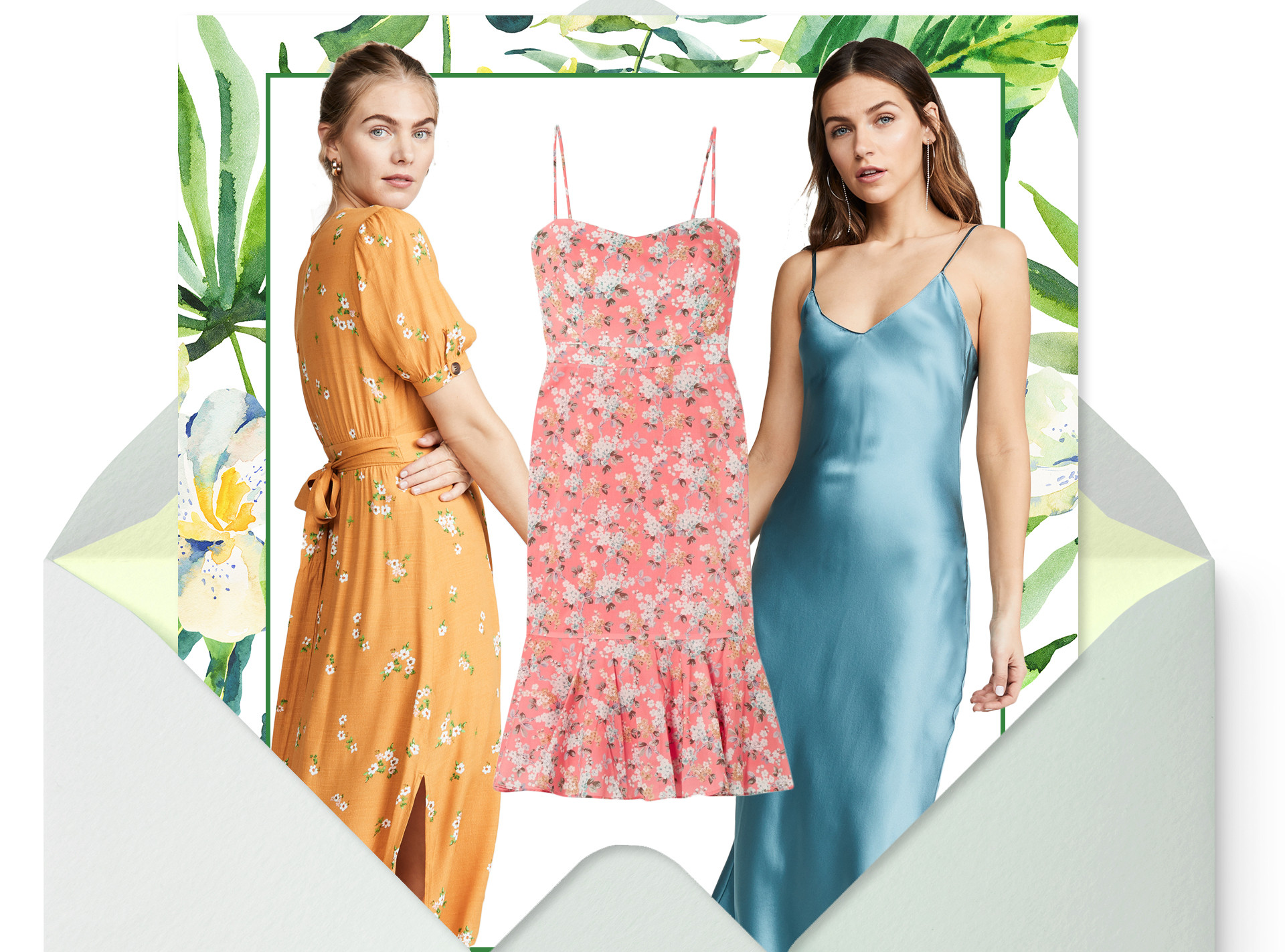 E-Comm: Summer Wedding Guest Dresses