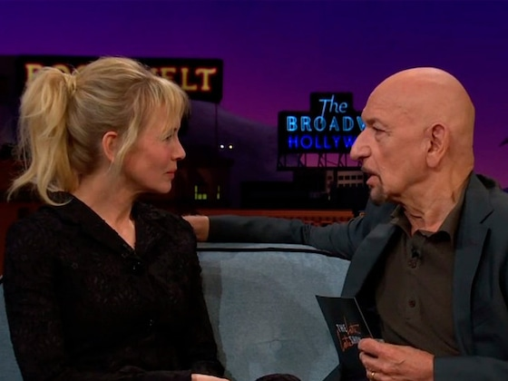 Sorry Tom Cruise! Renee Zellweger Reenacts Her Iconic <i>Jerry Maguire</i> Scene With Sir Ben Kingsley