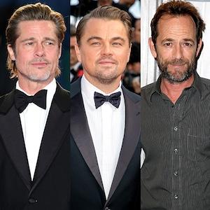 Brad Pitt, Leonardo Dicaprio, Luke Perry