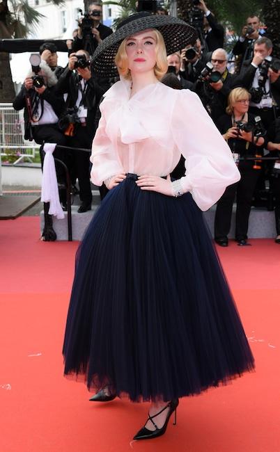 Elle Fanning, 2019 Cannes Film Festival, Red Carpet Fashions