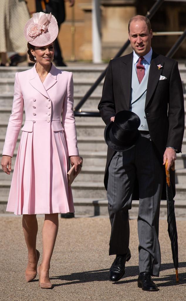 Kate Middleton & Prince William -  Garden party ready!