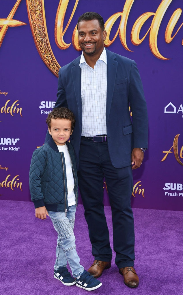Alfonso Ribeiro & Anders Ribeiro -  Father-son date night!