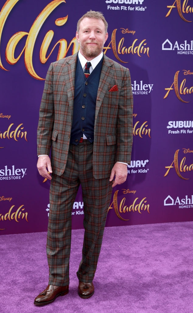 Guy Ritchie from Aladdin Premiere: See All of the Fabulous ...