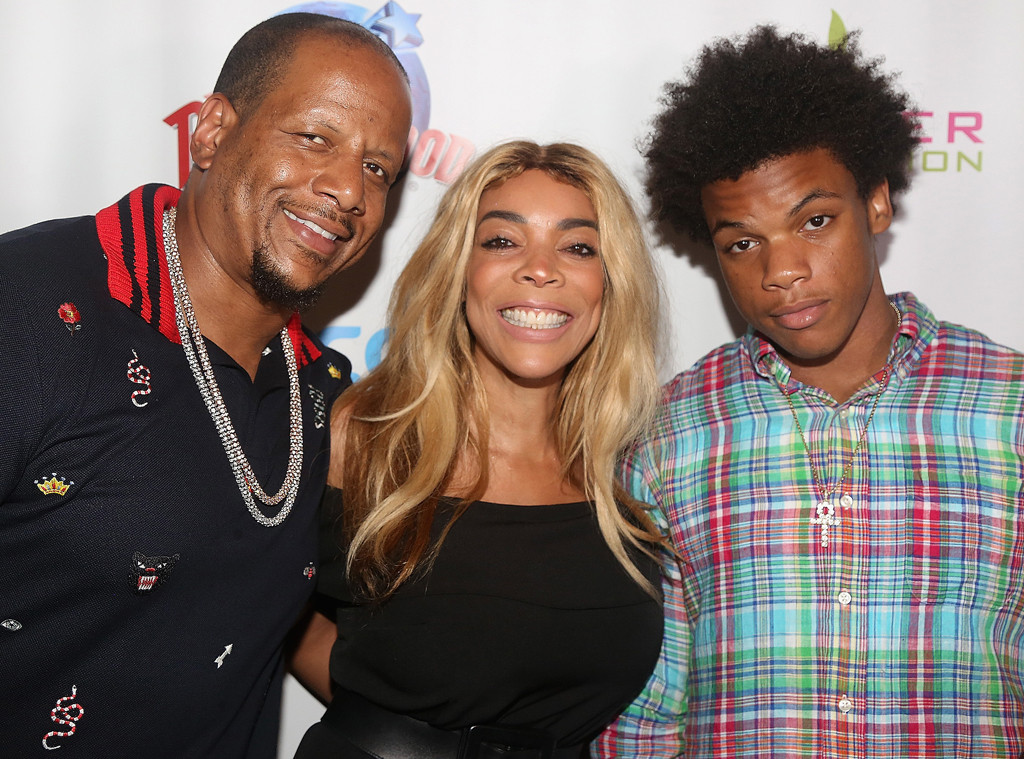 Image result for Wendy Williams was all smiles today after son's brawl with her ex!
