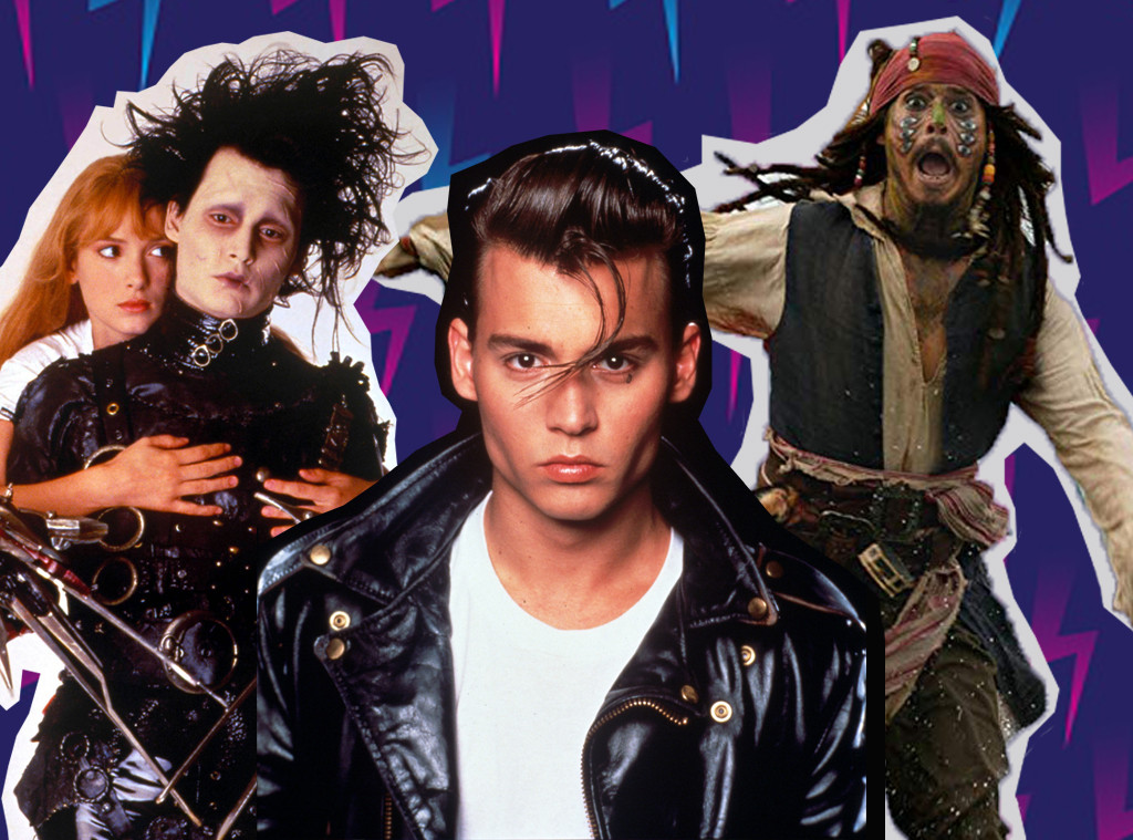 Johnny Depp, Johnny Depp Best Roles, Collage