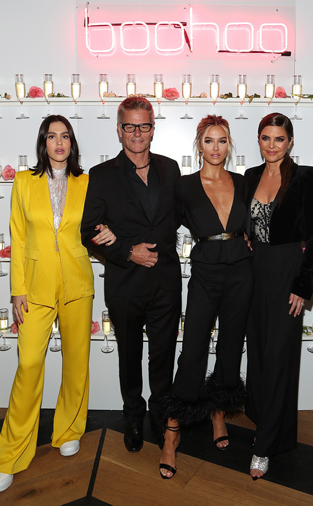 Lisa Rinna, Harry Hamlin, Amelia Grey, Delilah Belle