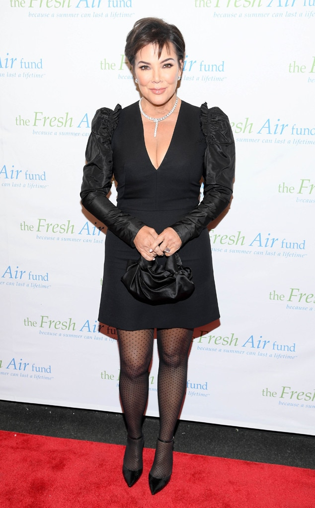 Kris Jenner -  Dressed for the night!