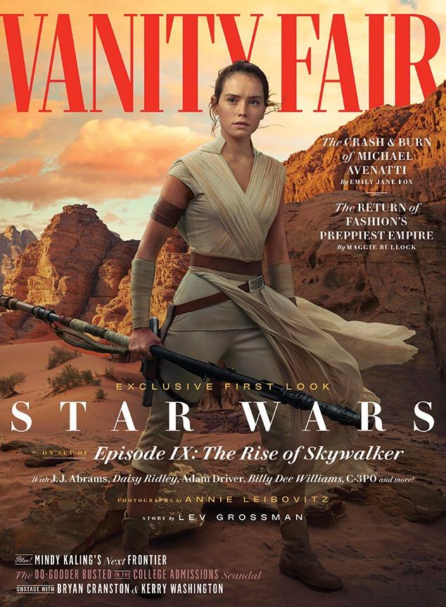 Vanity Fair, Star Wars, Daisy Ridley