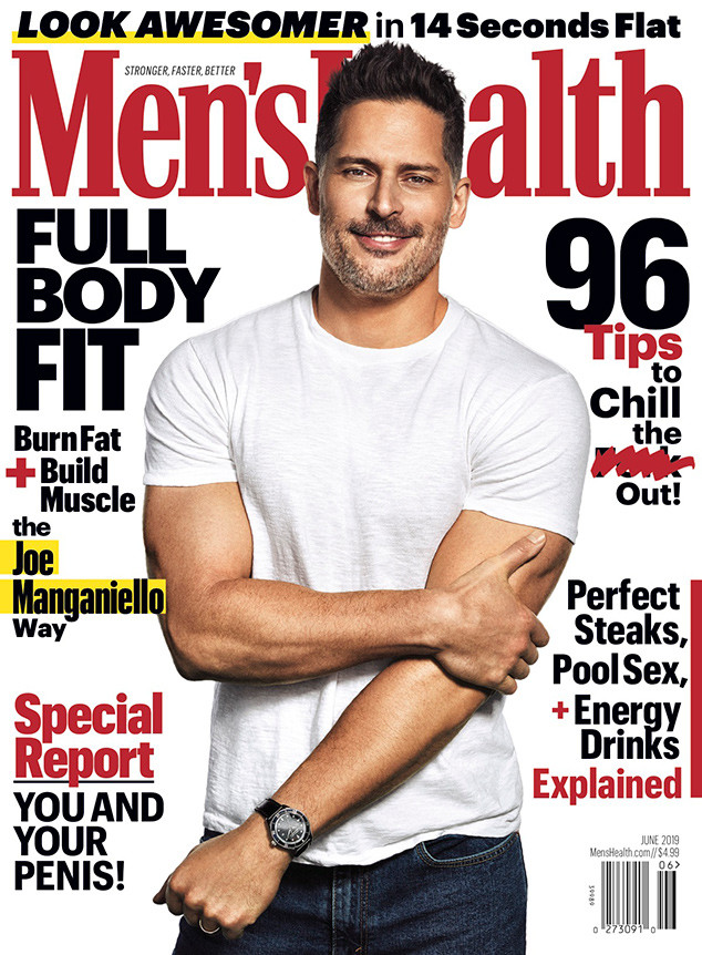 Joe Manganiello, Men's Health, June 2019