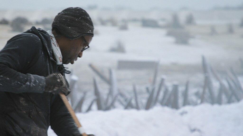 Snow Days -  Del Reid, special effects snow crew supervisor.