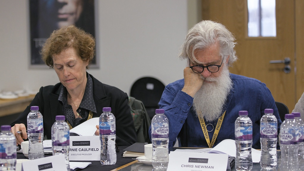 The Producers -  Bernadette Caulfield, Chris Newman, executive producers.