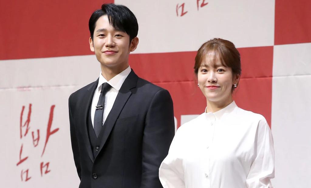 Sparks Fly Between Jung Hae-In & Han Ji-Min in One Spring ...