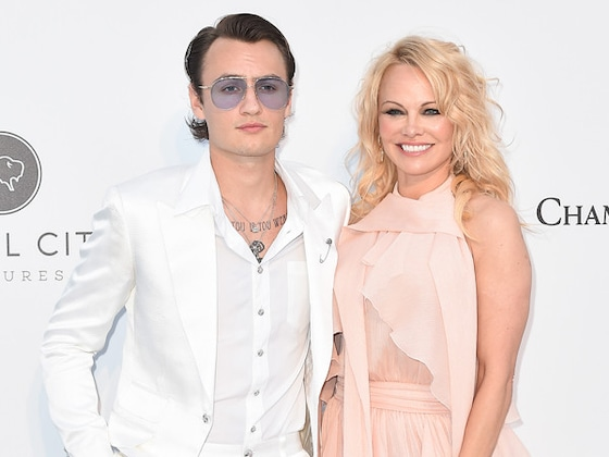 Pamela Anderson and Brandon Lee Are a Model Mother-Son Duo at 2019 Cannes amfAR Gala