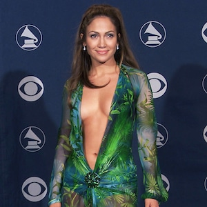 Jennifer Lopez, Grammy Awards 2000, Versace Dress