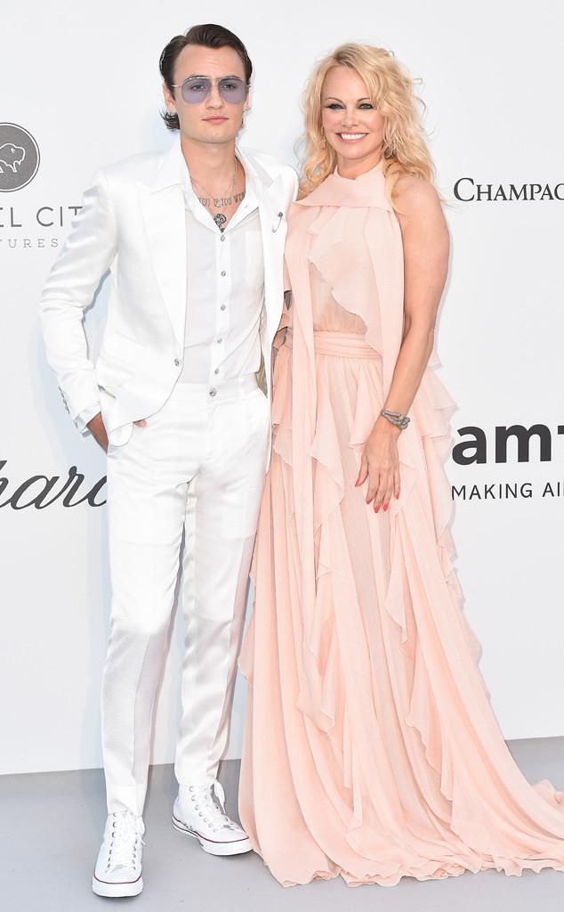 Pamela Anderson, Brandon Lee, amfAR, 2019 Cannes Film Festival