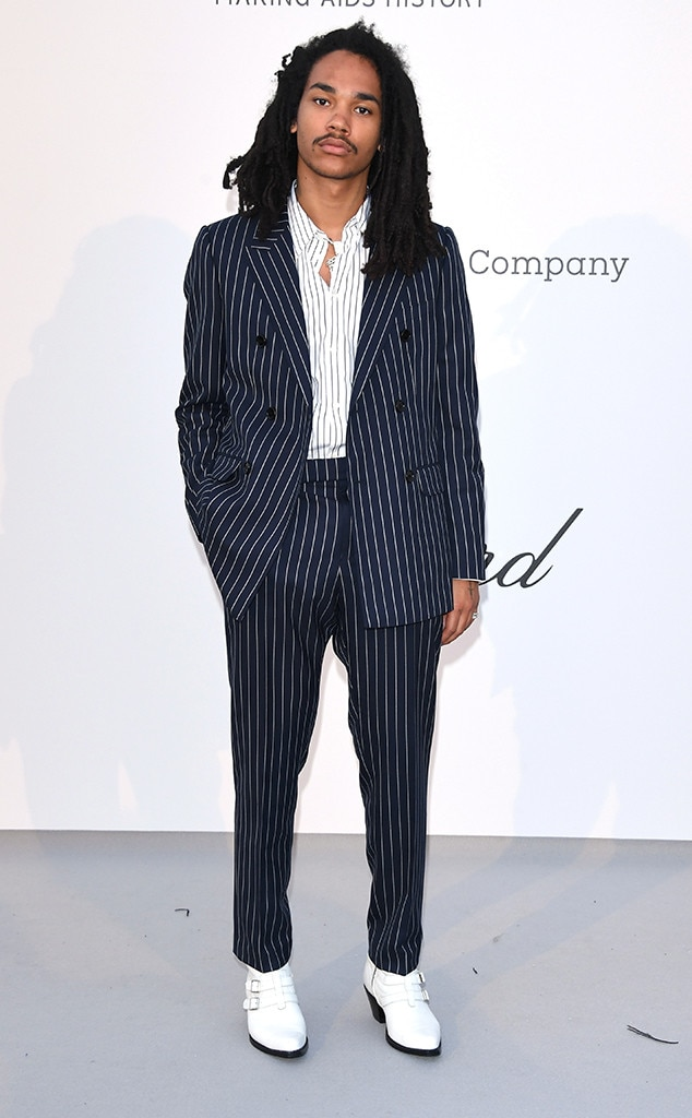 Luka Sabbat -  Whoever said ladies are the only red carpet pros clearly hasn't seen the  Grown-ish  star.