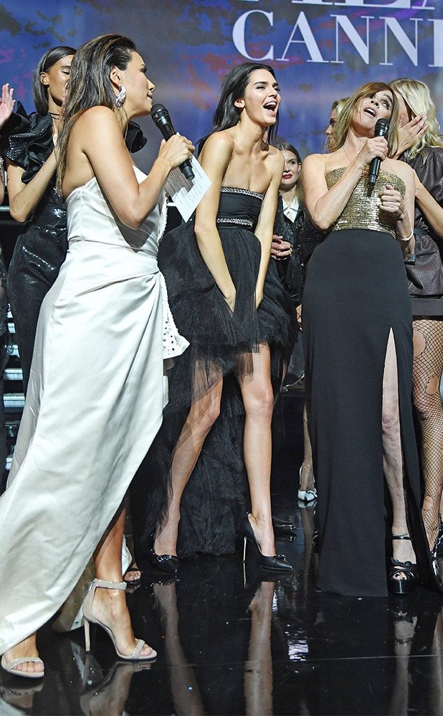 Just For Laughs -  Kendall joins fashion figures like Carine Roitfield and Eva Longoria on stage for a rowdy good time.