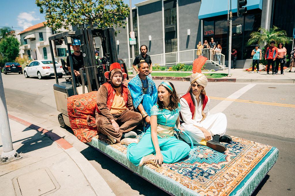 James Corden, Will Smith, Crosswalk the Musical, Aladdin