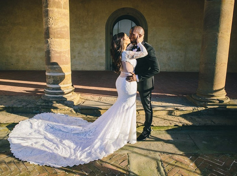 Photos From Kim Kardashian Kanye West S Wedding Album E Online