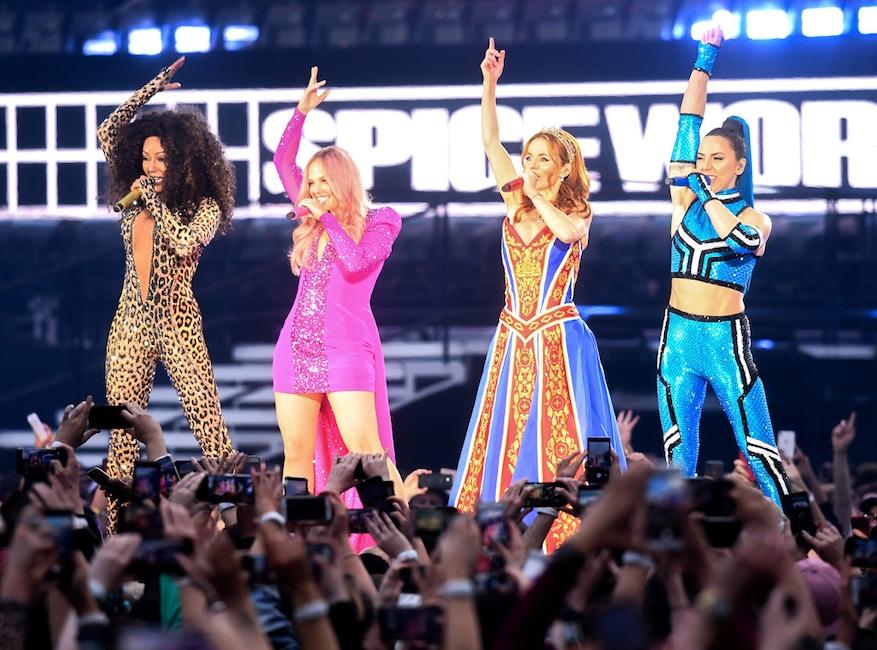 Spice Girls, Melanie Brown, Mel B, Emma Bunton, Geri Halliwell, Geri Horner, Melanie C, Melanie Chisholm