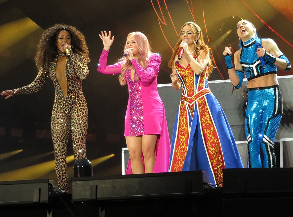 Zig-a-Zig-Ah -  There's no such thing as subtle when it comes to Spice Girls fashion, and it's the best.
