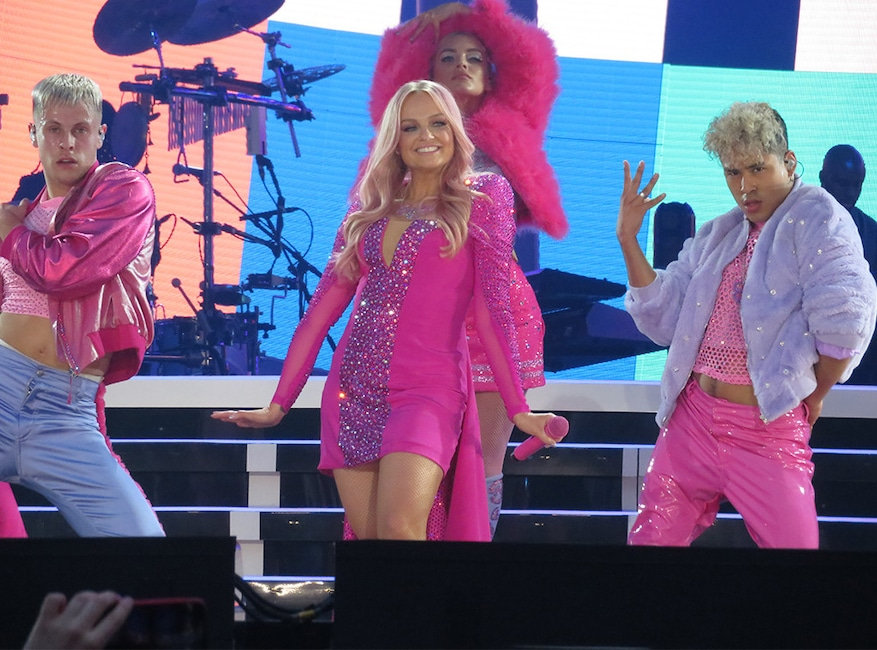 Spice Girls Reunion Tour 2019, Dublin, Ireland, Emma Bunton