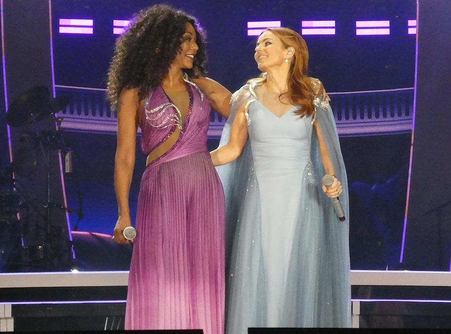 Spice Girls Reunion Tour 2019, Dublin, Ireland, Mel B, Geri