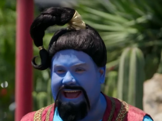 James Corden Grants Your Wish With an <i>Aladdin</i> Crosswalk Musical