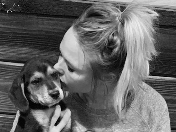 Miranda Lambert Shares Rare Photo of Husband Brendan McLoughlin With His Puppy Pals