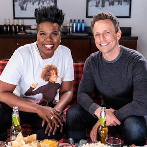 Late Night, Leslie Jones, Seth Meyers
