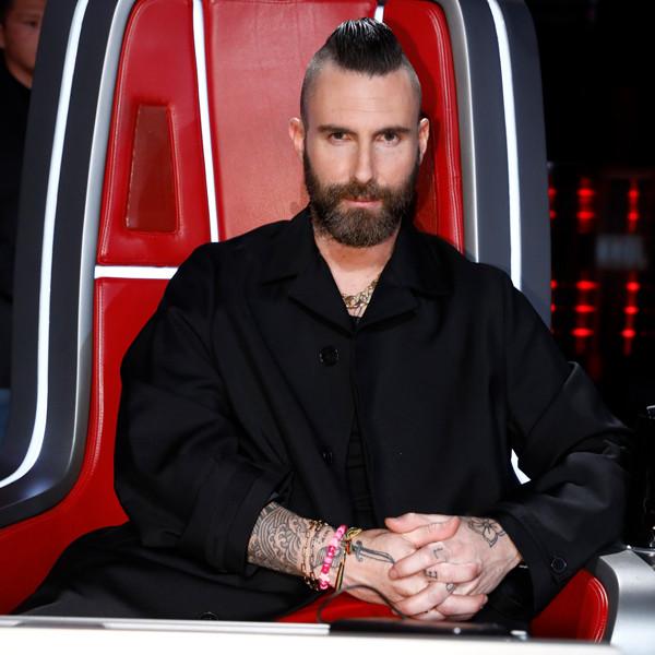 Adam Levine's New Haircut Will Make You Gasp
