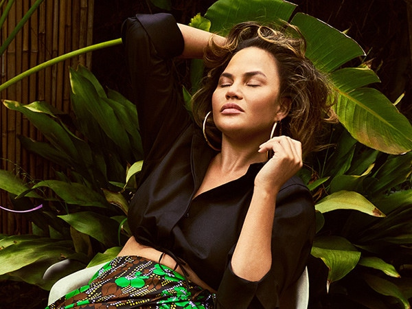 """Chrissy Teigen Says She Never Thought of Herself """"as a Real Model"""""""