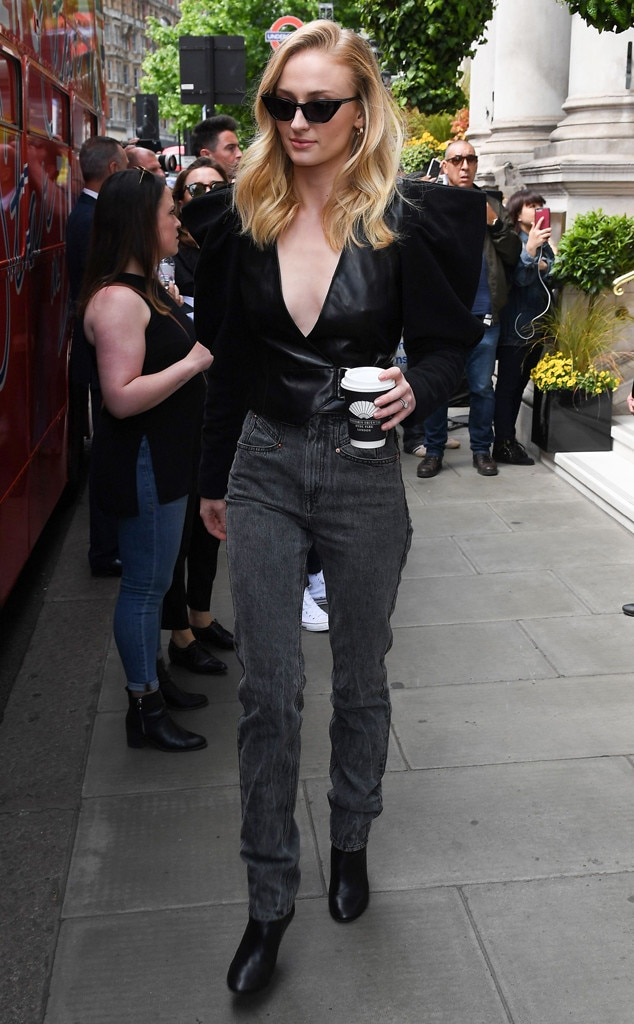 Sophie Turner -  Edgy style!
