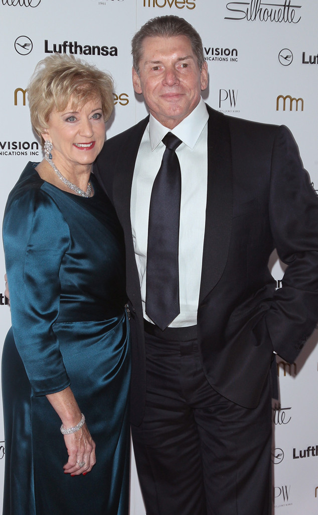 Pro Wrestling - Linda McMahon and Vince McMahon