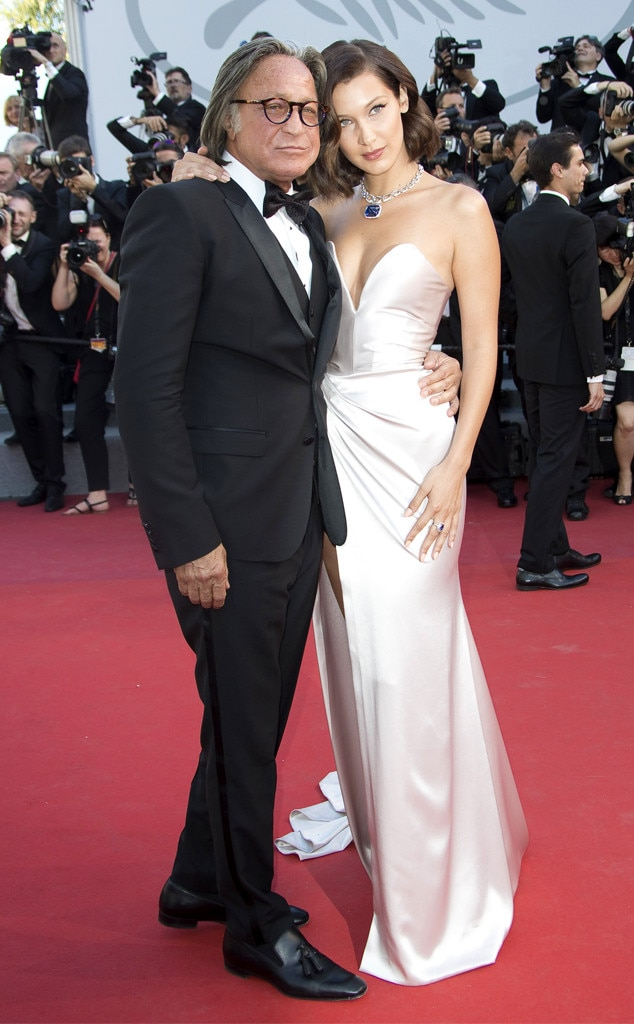 Bella Hadid & Mohamed Hadid -  The 22-year-old supermodel brings her dad, Mohamed, as her date to the fancy fête.
