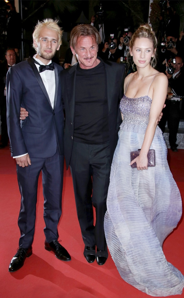Sean Penn, Hopper Jack Penn & Dylan Penn -  What's better than one date?