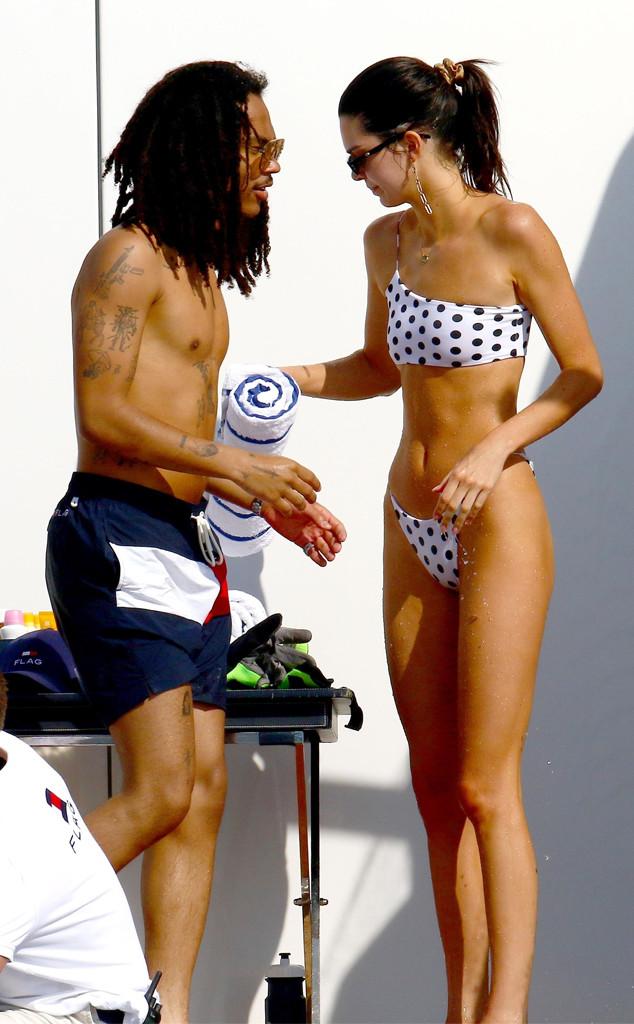 Kendall Jenner, Luka Sabbat, jetskis, Monaco