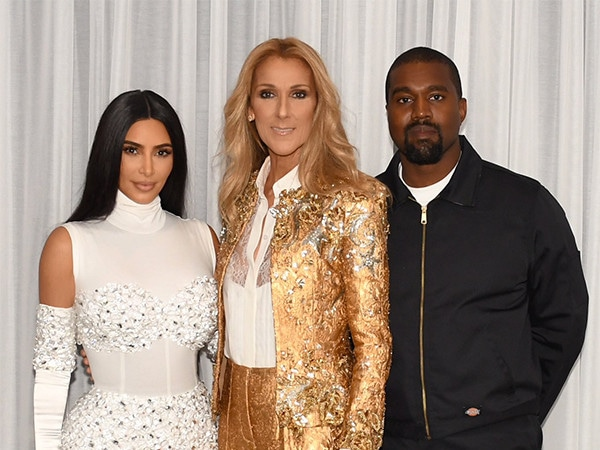 Kim Kardashian's Hubby Kanye West Surprises Her With Date to See Céline Dion