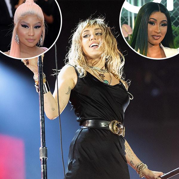 Miley Cyrus, Nicki Minaj, Cardi B