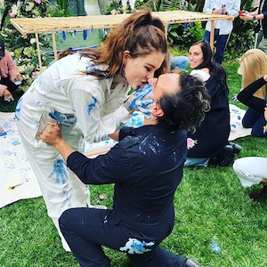 Johnny Galecki, Alaina Meyers, Baby Gender Reveal