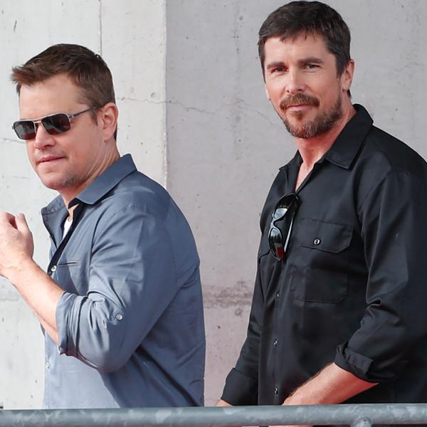"Christian Bale Admits Those Movie Transformations Turned Him and Matt Damon Into ""Grumpy Old Men"""