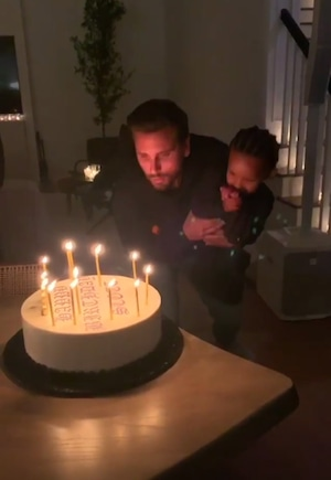 Scott Disick, Birthday Party, Saint West
