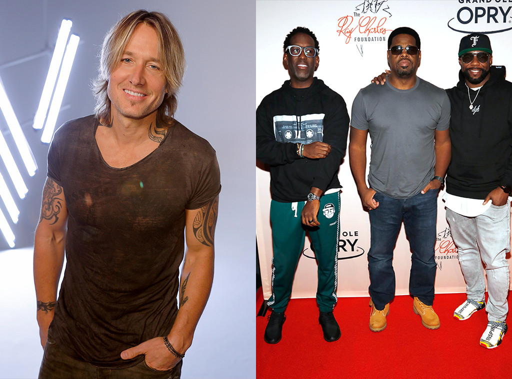 Keith Urban, Boyz II Men